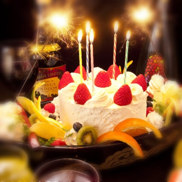 持ち込みOK!! 誕生日ケーキ