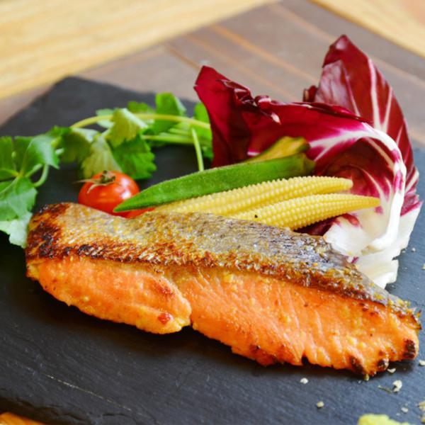 炙り魚の西京焼き